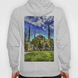 Blue Mosque Istanbul Art Hoody