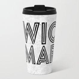 Twice as Smart  Travel Mug