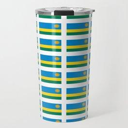 Flag of rwanda -rwanda,Rwandan,rwandais,ruanda,Gasabo,kigali. Travel Mug