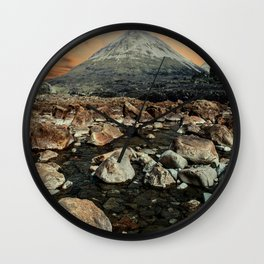 Valley of faires Wall Clock