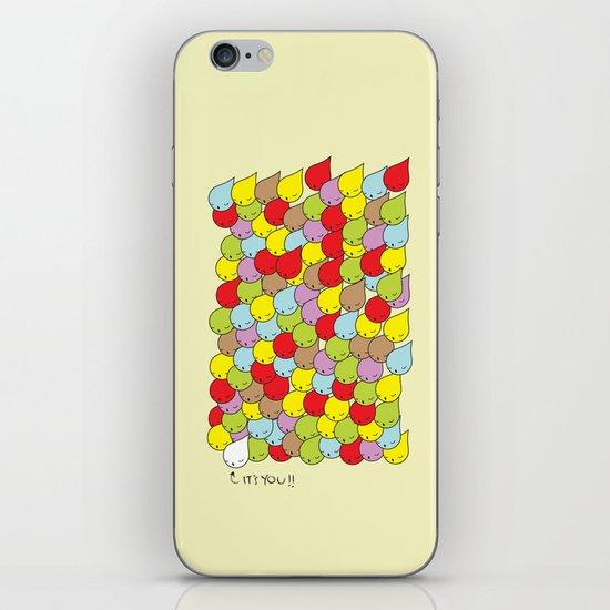 IT'S YOU iPhone & iPod Skin