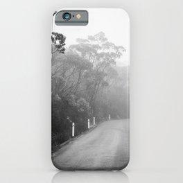 Mount Wellington Misty Road iPhone Case