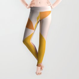 Abstraction_PEAR_PAINTING Leggings