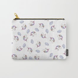 Unicorns Wings Light 2 Carry-All Pouch