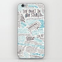 tfios iPhone & iPod Skins featuring TFIOS quotes by digital detours