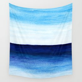 Blue & blue Wall Tapestry