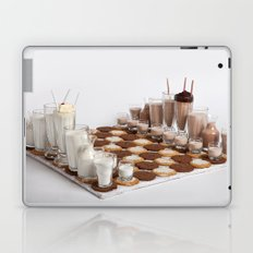 Cookies and Milk Chess Set Laptop & iPad Skin