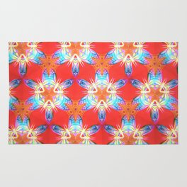 Nine-Pointed Star Flower: Perfection Rug