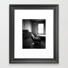 Solitude Chair Framed Art Print