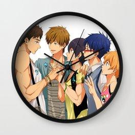 Free! All Love 4 Sousuke Wall Clock