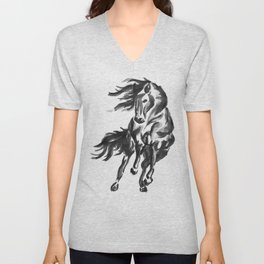 Sumi Horse Unisex V-Neck