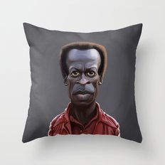 Celebrity Sunday ~ Miles Dewey Davis Throw Pillow