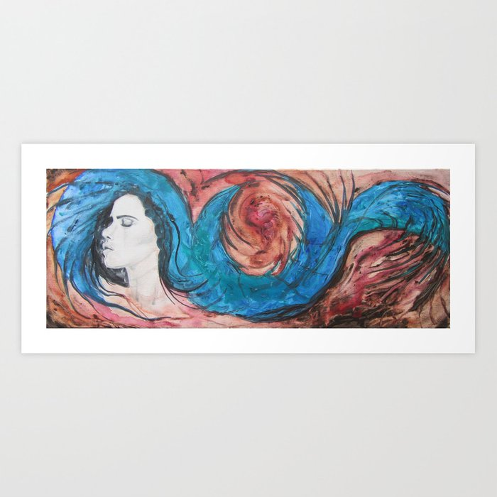 Dance of Dreams Art Print