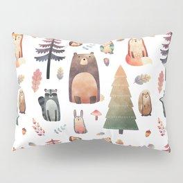 forest friends Pillow Sham