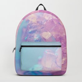 Pink Crystal Texture Backpack
