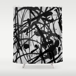 All Over The Place 2.0 Shower Curtain