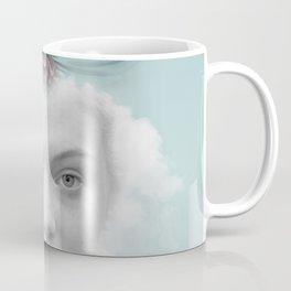 A girl who lived in a cloud Coffee Mug