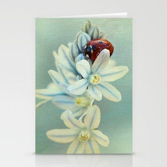 Ladybirds Stationery Cards
