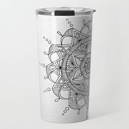 mandala2 Travel Mug