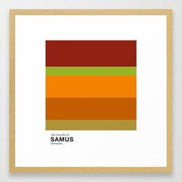 The Colors of Samus Framed Art Print