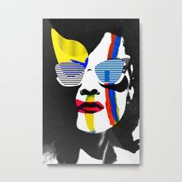 Vilena Vix Art Portrait Metal Print