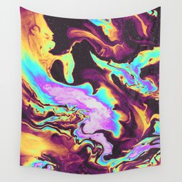 WHEN THE NIGHT IS OVER Wall Tapestry