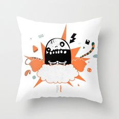 Mr wideo1 Throw Pillow