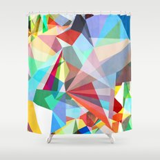 Colorflash 5 Shower Curtain