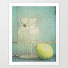 Pearing Art Print