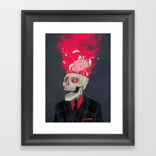 BrainStorm Framed Art Print