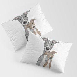 Blue & Fawn Pillow Sham