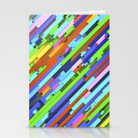 NeonGlitch 3.0 Stationery Cards