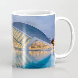 CALATRAVA | architect ARCHITECTURE | City of Arts and Sciences III Coffee Mug