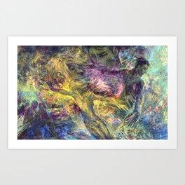 Flaming Spirits Art Print