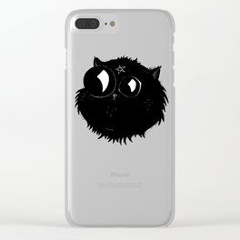 Unholy Cat Clear iPhone Case