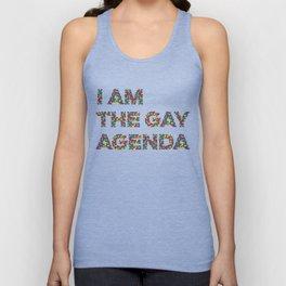 I Am The Gay Agenda Unisex Tank Top