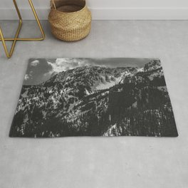 Mt. Townsend Olympic National Park Washington Rug