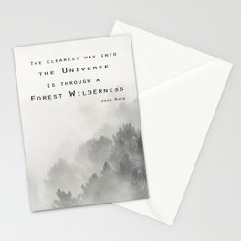 """Forest Wilderness"" Stationery Cards"