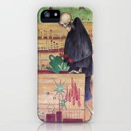 The Garden of Death fresco by Hugo Simberg iPhone Case