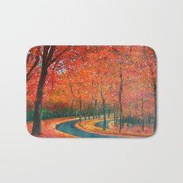 Beautiful colors of Autumn Bath Mat