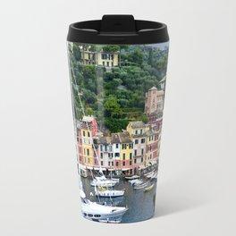 Portofino Harbour Italy Travel Mug
