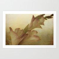 vintage floral Art Prints featuring Vintage Floral by Dorothy Pinder