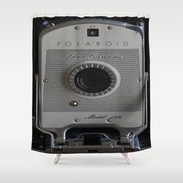 Polaroid Land Camera 150 Shower Curtain