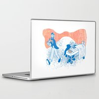 freud Laptop & iPad Skins featuring Freud and Halsted by Dustin Davis
