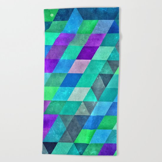 drwwn frwwn Beach Towel