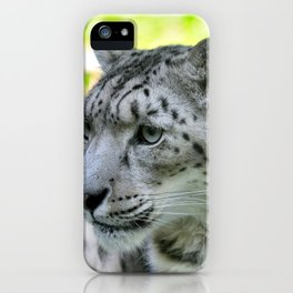 Snow leopard (Irbis)  iPhone Case