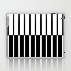 Zebra Plays Piano Laptop & iPad Skin