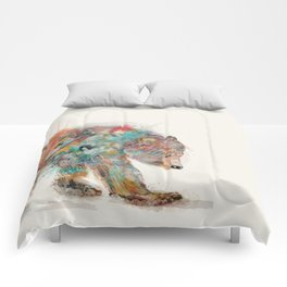into the wild (the grizzly bear Comforters
