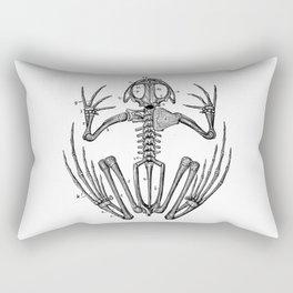 Frog skeleton Rectangular Pillow