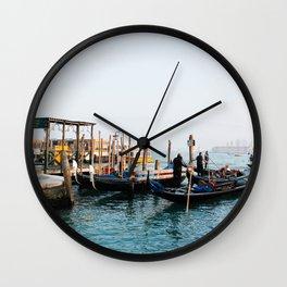 Gondola's. Wall Clock